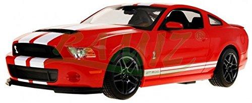 Rojo RASTAR RC Control Remoto Ford Shelby Mustang Gt500 1:14