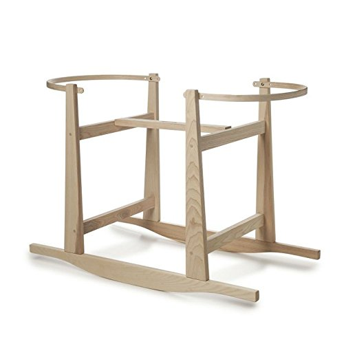 Rocking Stand for Moses Basket - Natural