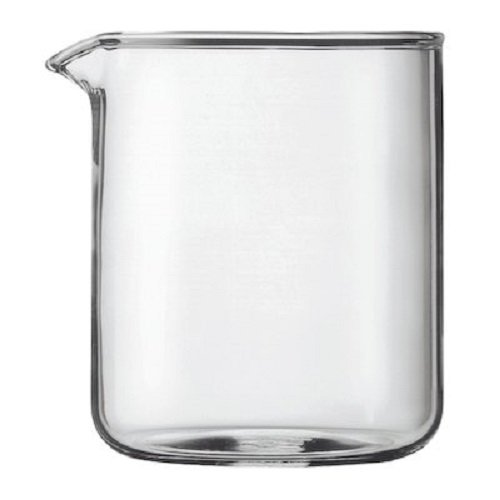 Bodum Replacement Glass Two Cup, 17-Ounce Spare Glass Bodum Glass Bowls