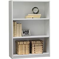 Ameriwood 3-Shelf Bookcase, White Stipple