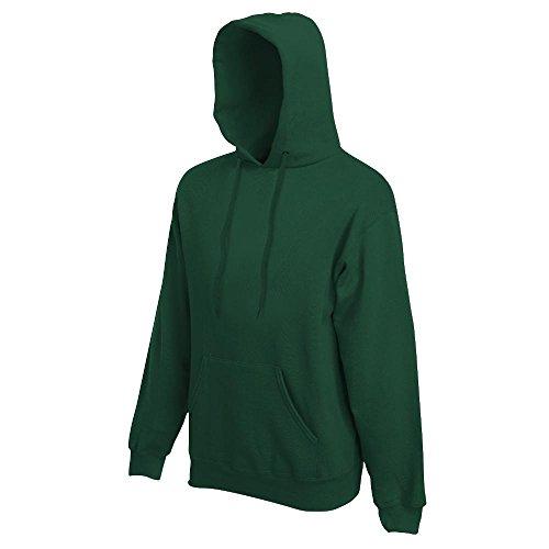 Fruit of the Loom - Kapuzen-Sweatshirt 'Hooded Sweat' XL,bottle green XL,Bottle Green