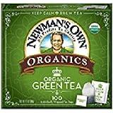 Newman's Own0174;Organics Royal Tea, Organic Green Tea, 40 Individually Wrapped Tea Bags, 2.82-Ounce Boxes (Pack of 12)