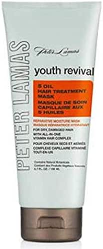 Peter Lamas Youth Revival 5 Oil Hair Treatment Mask, 6.7 Ounce