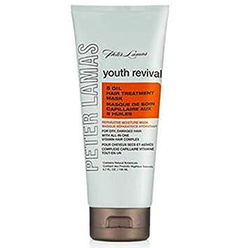 Peter Lamas Youth Revival 5 Oil Hair Treatment Mask, 6.7 Ounce