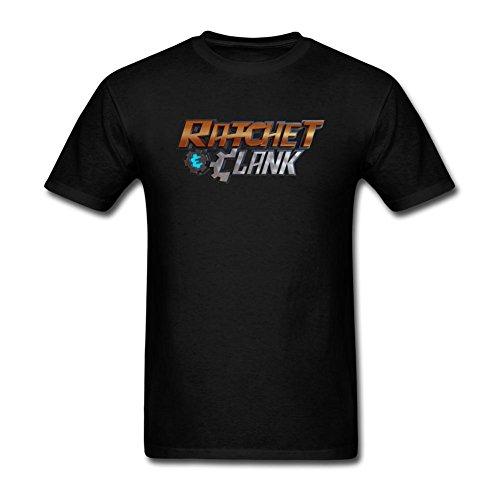 Men's Ratchet Clank DIY Cotton Short Sleeve T Shirt