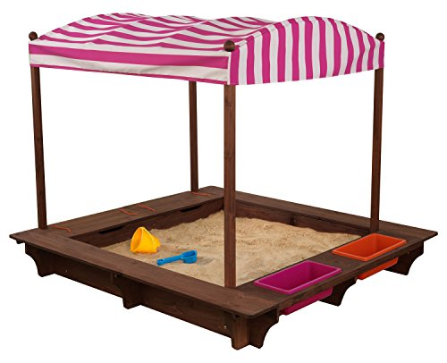 Kid Kraft Outdoor Sandbox with Canopy - Pink and White  sc 1 st  Nextag & Kidkraft sandbox with canopy | Compare Prices at Nextag