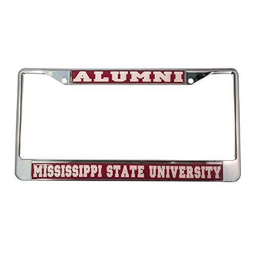 B.Fighting Mississippi State University Alumni License Plate Frame ()