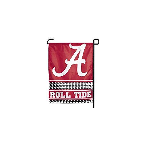 Alabama Crimson Tide HOUNDSTOOTH YARD FLAG ROLL TIDE Script A Banner BAMA UA (Flag Banner Yards)