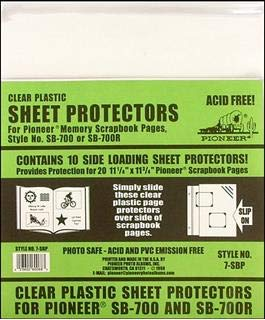 Pioneer SB-700 Sheet Protectors