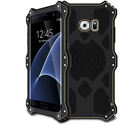 Galaxy S7 Edge Case,MK2 Series Luxury Aluminum Alloy Protective Case, Metal Bumper Armor Aluminum Shockproof Military Sales