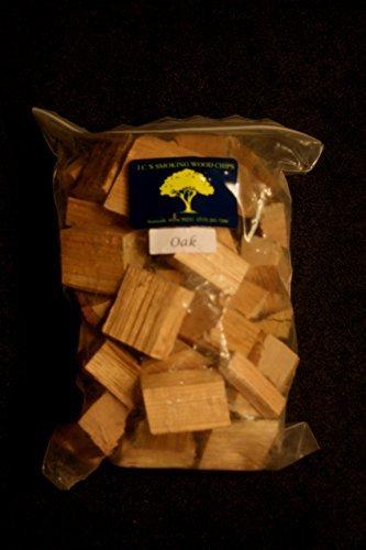 J.C.'s Smoking Wood Chunks – Bolsa de tamaño galón – roble