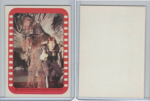 Star wars 1977 stickers