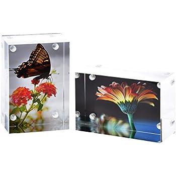 Amazon.com - Magnetic Acrylic Photo Frame(5x7\'\') - Crystal Clear ...