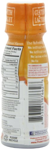 ProBalance The Original Protein Shot XL, Tropical Mango 3 fluid Ounce, 12 Count