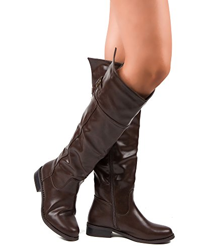 Knee High Boots For Women Size 12 | All-My-Shoes.com