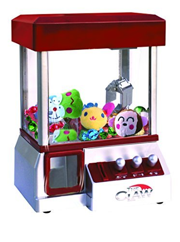 Etna The Claw Toy Grabber Machine with Sounds and Animal Plush - Features Electronic Claw Toy Grabber Machine, Animation, 4 Animal Plush & Authentic Arcade Sounds for Exciting - Blue Machine Claw