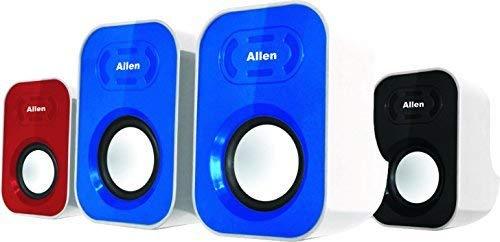 Allen Plastic Mini Portable 2.0 Multimedia Speaker for Laptop and PC