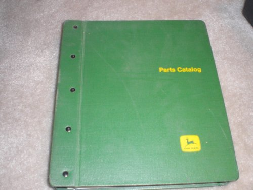 John Deere Parts Catalog Binder with 12 Parts Catalogs Including Sprayers & Powr-till Seeder & High-pressure Washer