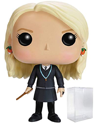 Funko Pop! Movies: Harry Potter - Luna Lovegood #14 Vinyl Figure (Bundled with Pop Box Protector Case)