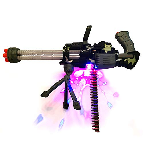 LilPals' 20 Inch Thunder Fire Toy Machine Gun - with Dazzling Light, Amazing Sound & Unique Action