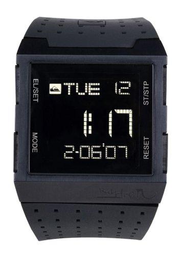 Quiksilver M091DR/BLK - Reloj de caballero con correa negra - sumergible a 100 metros