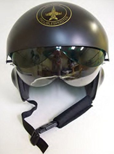 Fighter Pilot Flight Helmet -