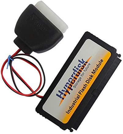 Hotusi 40 pin IDE 4 GB MLC عمودی DOM / SSD / Disk در ماژول برای هارد داخلی داخلی یا شرکت PC