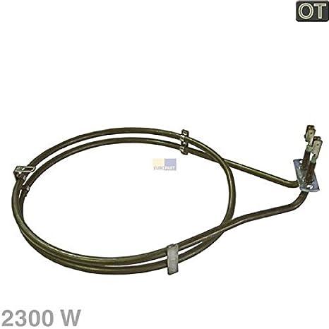 Umluft Heizelement 2500 Watt passend f/ür Bosch Siemens 083517 AEG-Electrolux 899661912861 Backofen Hei/ßluft
