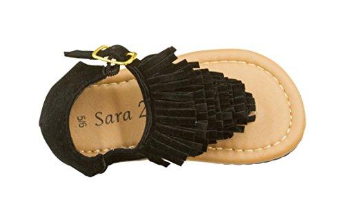 sara-z-toddler-girl-microsuede-fringe-sandal-9-10-black