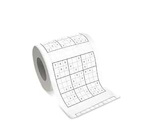Thumbs Up UK Sudoku Toilet Paper