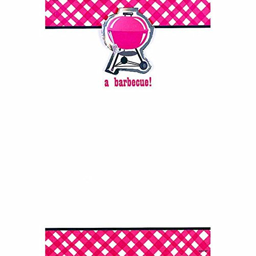 Keep on Grillin' Imprintable Barbeque Party Invitation w/Add-On Card, 9