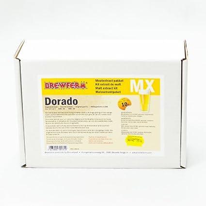 Kit de cerveza Dorado en extracto de malta - 10 litros