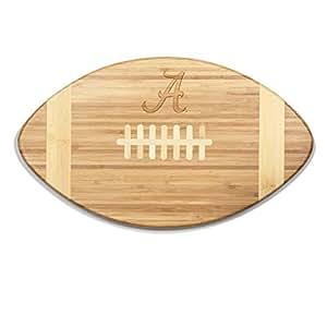 NCAA Alabama Crimson Tide Touchdown! Bamboo Cutting Board, 16-Inch