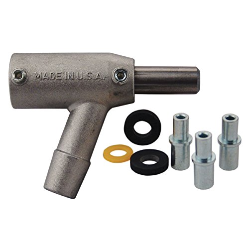 Skat Blast S-35 & C-35 Pro-Series Power Head Assembly with Carbide Nozzle for S-35/S-25 and C-35/C-25 Sandblasting Cabinet Guns 6303-90C