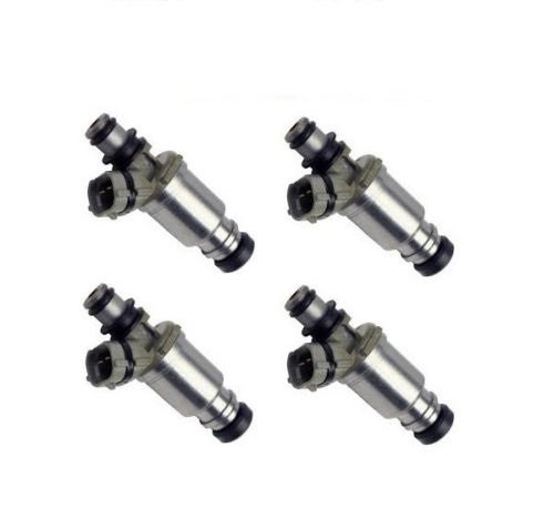 4x OEM Denso Fuel injectors for 89-93 Geo Prizm, Corolla 1.6L/23250-16120 (pack of 4)
