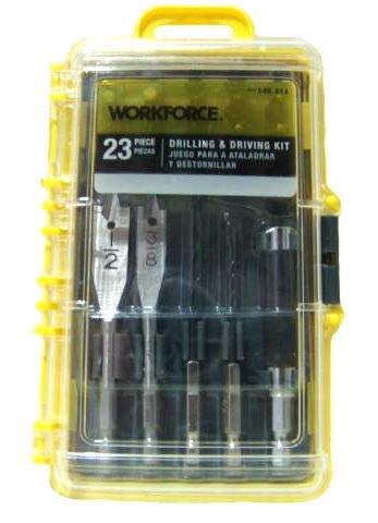 Workforce 23-piece Drilling & Driving Kit