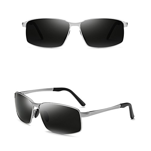 ULTRAVIOLETA sol vidrios GYYTYJ conducen Color anti los de polarizadas D los D deportivas Gafas Gafas que SSSX hombres cuadradas de ffBqwta6
