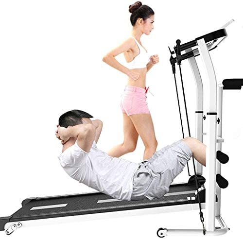 SMQHH Treadmills Cardio Training, Folding Treadmill Home Fitness Equipment 2