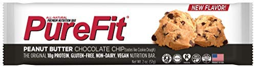 PureFit Peanut Butter Chocolate Chip Premium Nutrition Bars
