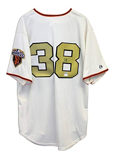 Brian Wilson San Francisco Giants Autographed White Majestic Jersey - Certified Authentic Signature