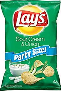 product image for Lay's Sour Cream & Onion Chips 13.25oz Party Size (12 Bags)
