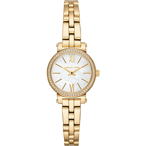 Michael Kors Watches Womens Sofie Gold-Tone Watch