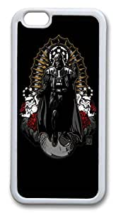 iphone 6 plus 5.5inch Case and Cover Darth Vader TPU Silicone Rubber Case Cover for iphone 6 plus 5.5inch White