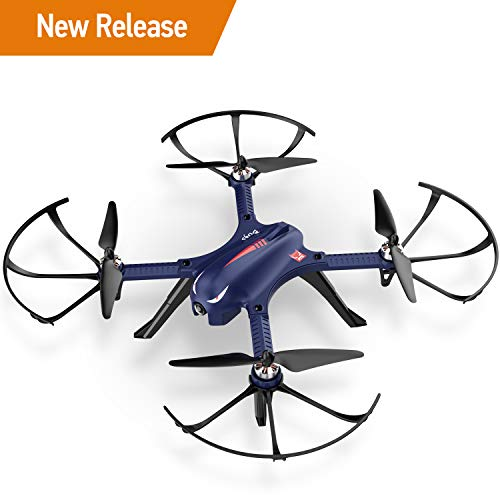 DROCON Blue Bugs 3 Brushless Motor Quadcopter Drone for Beginners and Experts - 18-20 Mins Long Working Time - 300 Meters Long Control Range -Support Gopro Xiaomi Xiaoyi 4K Camera