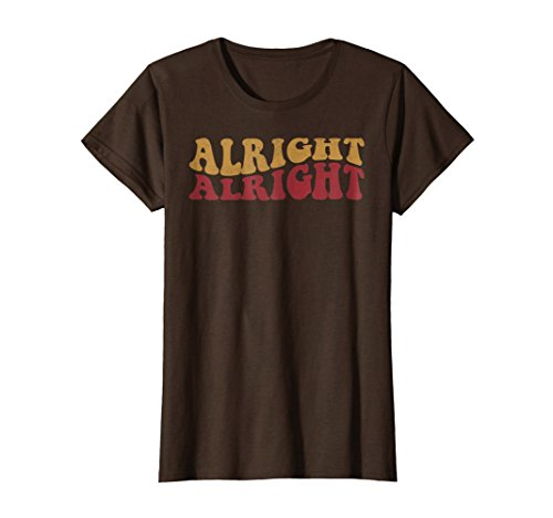 Alright Alright Shirt Funny Vintage 70s Tee