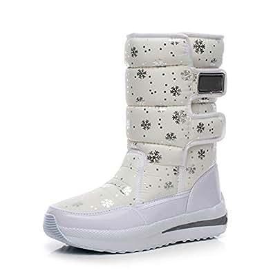 Amazon.com | Women's Rain Boots Winter New Korean