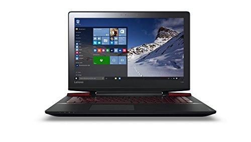 Lenovo ideapad Y700 39,62cm (15,6 Zoll Full HD Anti-Glare) Gaming Notebook (Intel Core i7-6700HQ Quad-Core, 3,5GHz, 16GB RAM, 512GB SSD, NVIDIA GeForce GTX960M 4GB, DVD, Windows 10 Home) schwarz