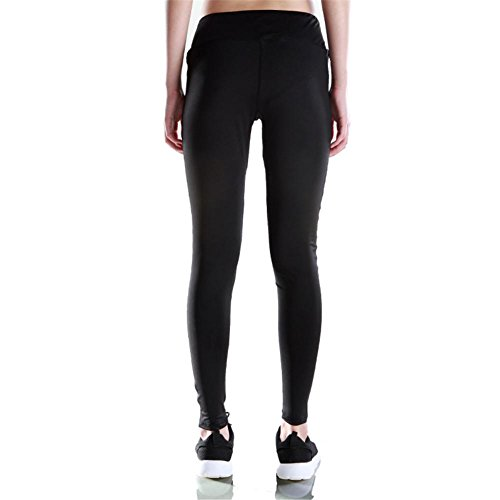 HYHAN Yoga fitness Super slim medias deportivas black three layer hollow s16002