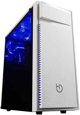 Hiditec Torre Pc NG-Z1 (ATX, Micro ATX, Lector de tarjetas SD/MicroSD, Estructura Acero, Metacrilato, USB 3.0, 3 ventiladores Led de 120mm y Gráficas hasta 360mm) color negro: Hiditec: Amazon.es: Salud y cuidado