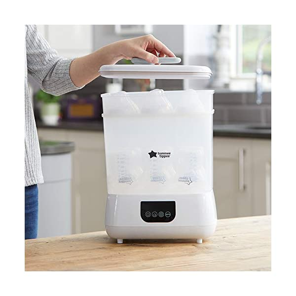 New Tommee Tippee Steri-Steam Electric Steam Sterilizer, White 5